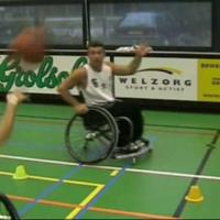 Wheelchair basketball skills